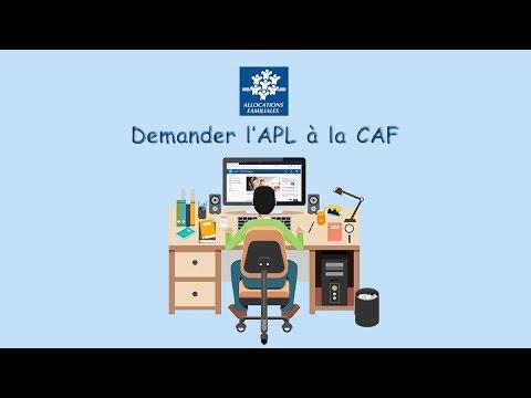 Comment demander l'APL à la CAF ?