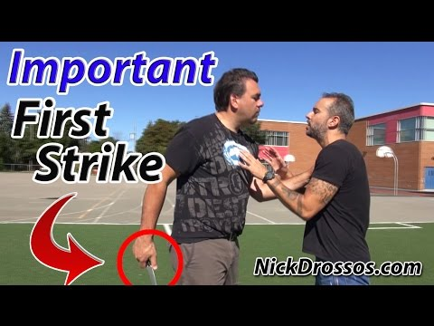 Importance of Pre-Emptive Striking with a Bigger Attacker