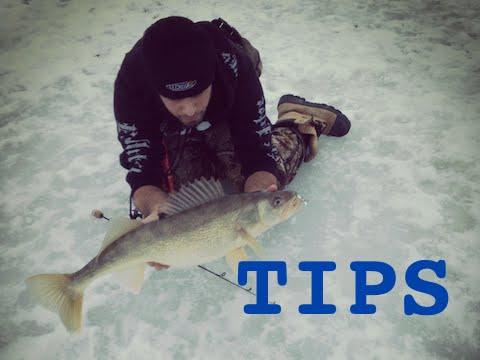 Ice Fishing Tips - Walleye