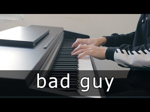 Billie Eilish - Bad Guy (Piano Cover By Riyandi Kusuma)