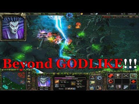 DOTA 1 KROBELUS - Death Prophet BEYOND GODLIKE! FULL GAMEPLAY