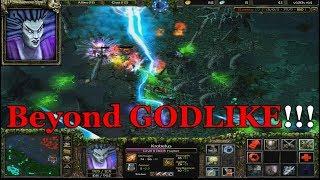 DOTA 1 KROBELUS - Death Prophet BEYOND GODLIKE FULL GAMEPLAY