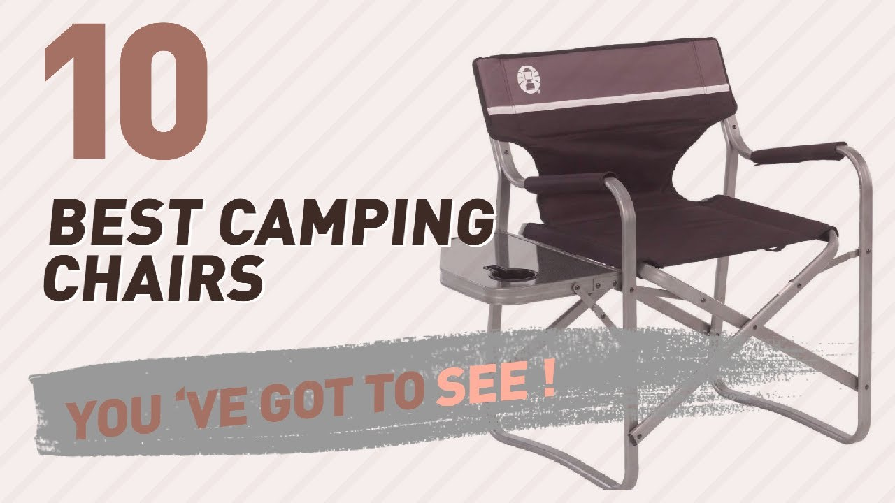 Folding Camp Chair With Side Table Camping Chair With Side Table Top 10 Collection New Popular 2017