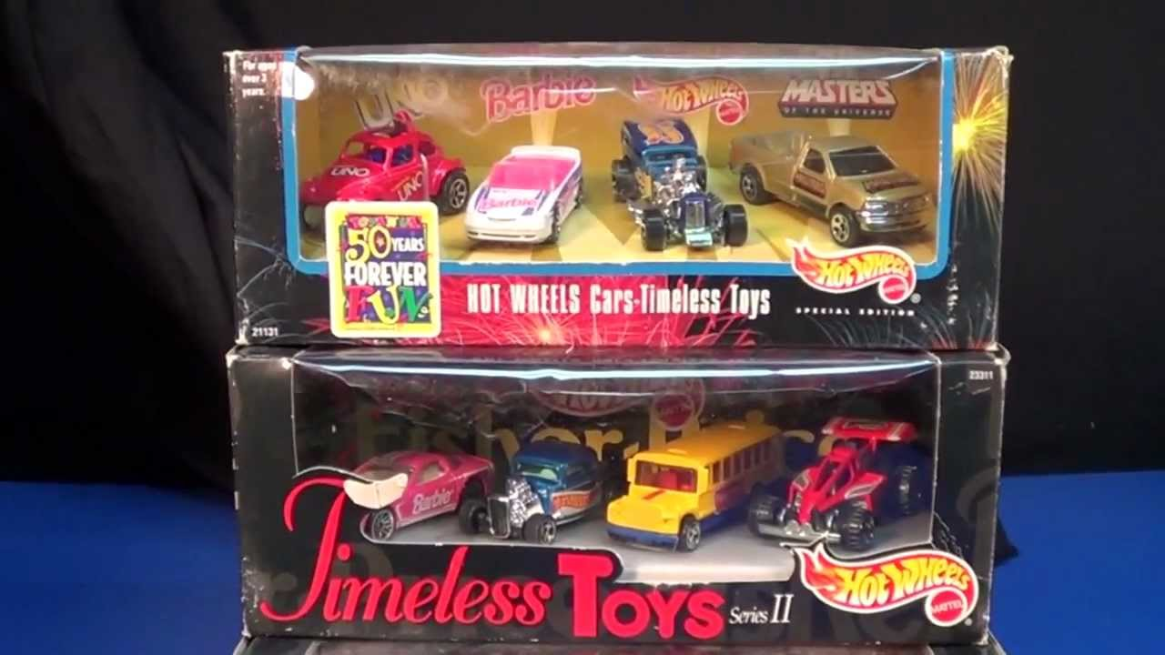 Hot Wheels Timeless Toys Toys R Us Exclusive 4 Packs Youtube