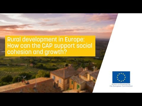 Rural development in Europe: How can the CAP support social cohesion and growth?