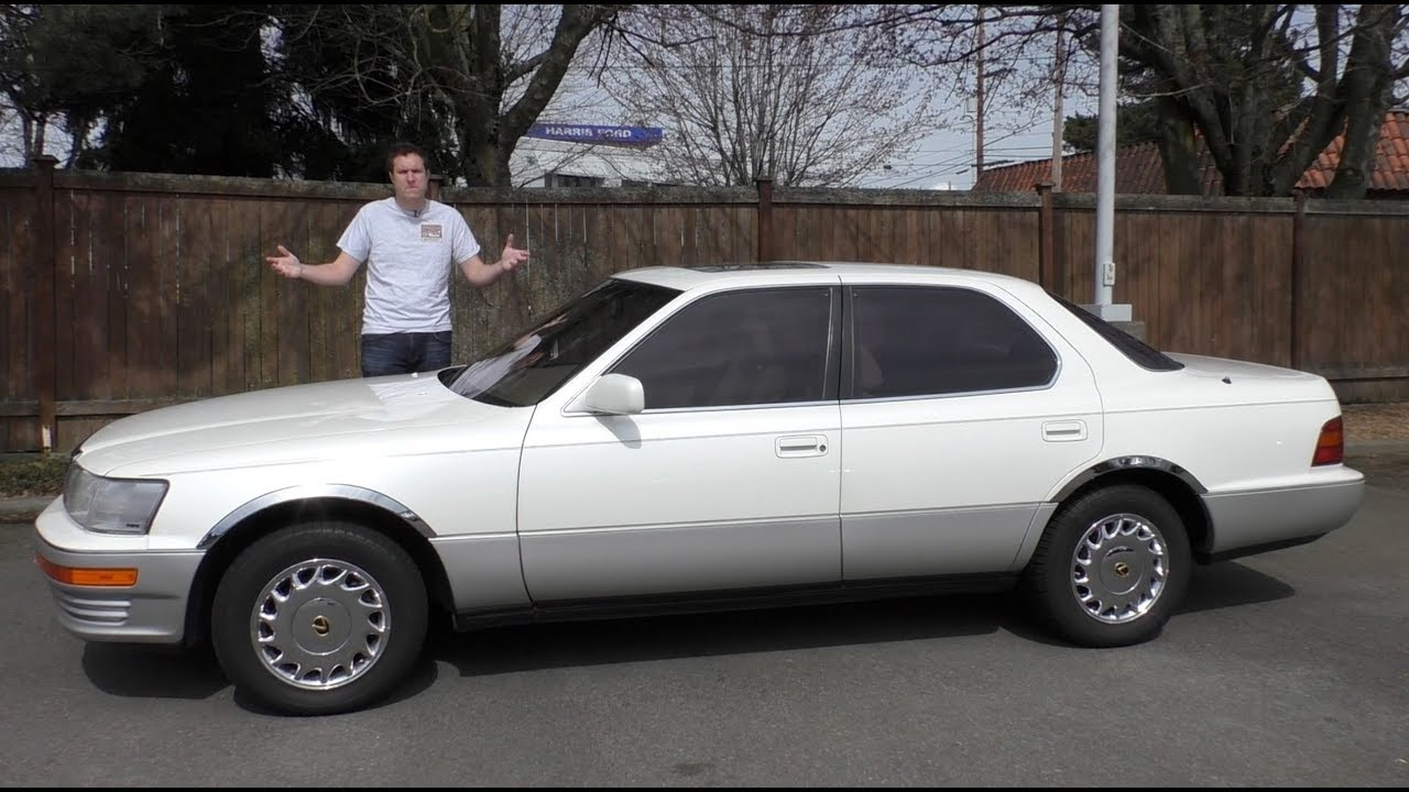 The 1990 Lexus LS 400 Was the Beginning of Lexus