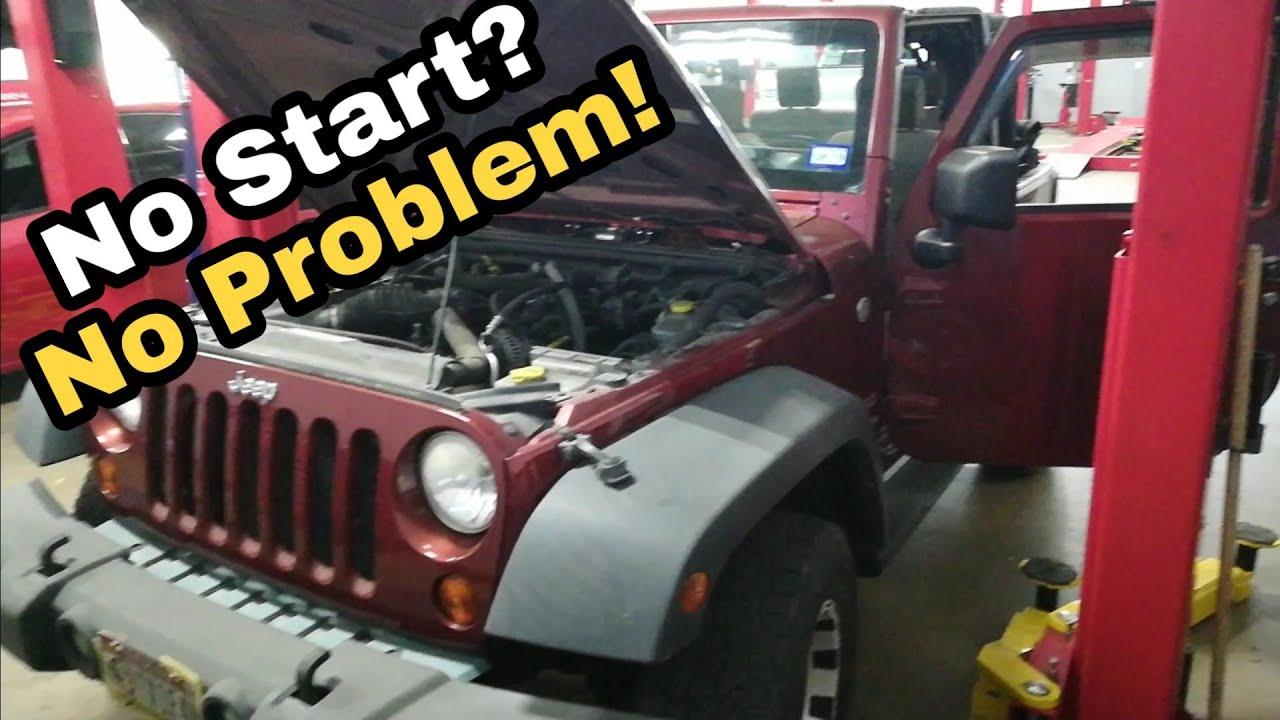 Jk Jeep Wrangler Won T Start No Start Condition Ignition