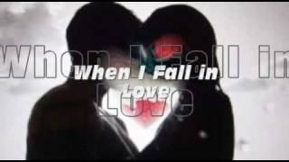 WHEN I FALL IN LOVE Karaoke my version of a Celine Dion song