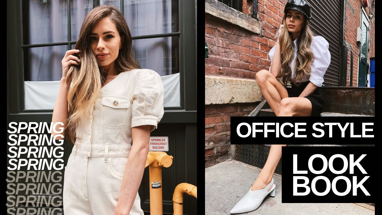 HOW TO STYLE SPRING WORK WEAR 2019: 5 OFFICE OUTFIT LOOKBOOK