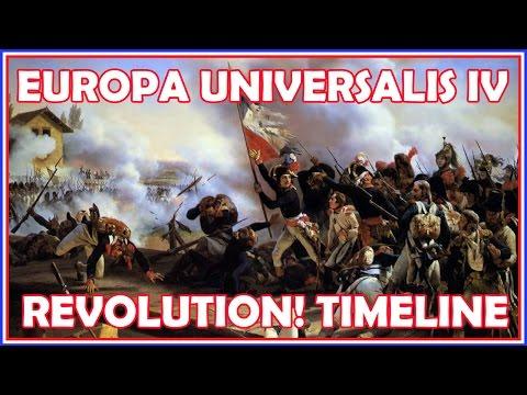 Europa Universalis IV - Custom Nation World Building - Revolution! Timeline