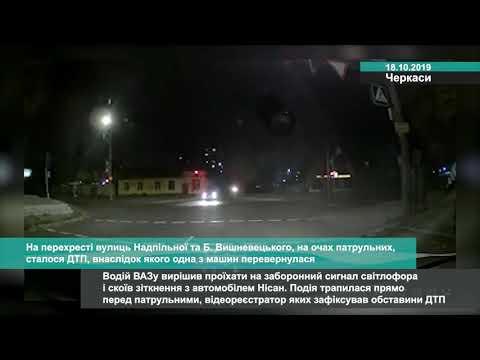 Телеканал АНТЕНА: На перехресті вулиць Надпільної та Б  Вишневецького, на очах патрульних, сталося ДТП, внаслідок