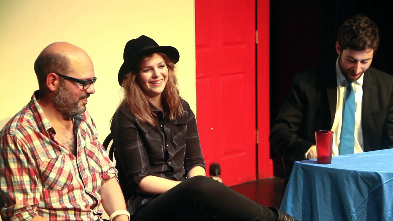 David Cross & Amber Tamblyn Interview Pt. 4 — Running Late with Scott Rogowsky
