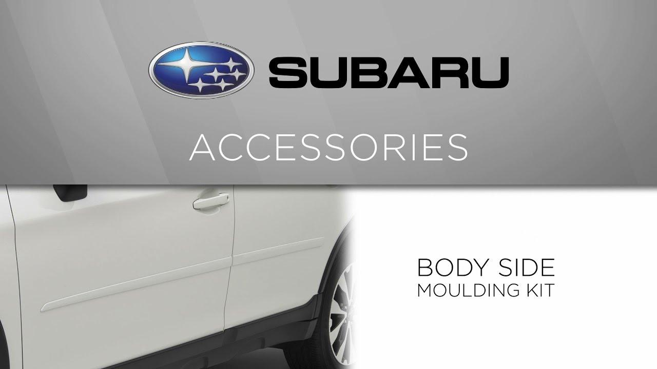 Genuine Subaru Accessory - Body Side Moulding Kit