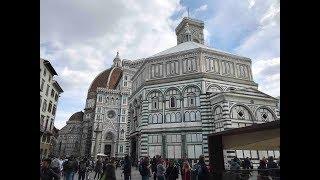 Влог из Флоренции: Купол Брунеллески (Медичи) и непонятные машины