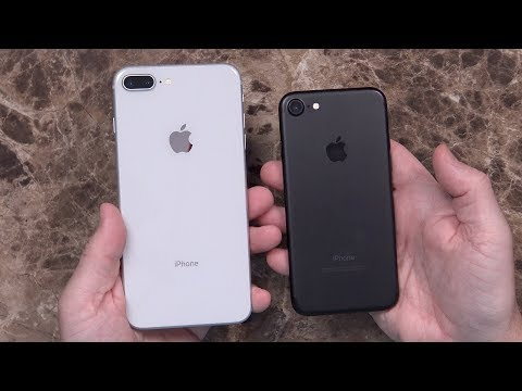 Apple iPhone 8 Plus (64Gb, Silver) Unboxing and First Impressions