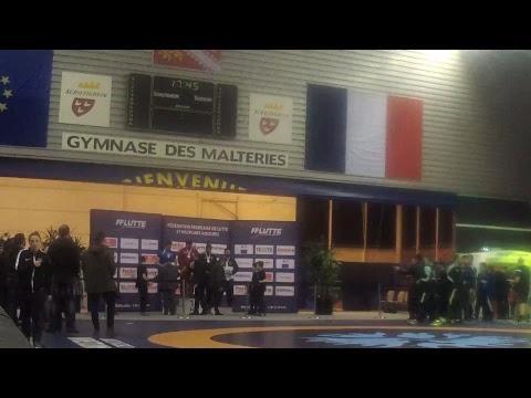 Finales des championnats de France de lutte séniors Jour 2 - Schiltigheim 2018