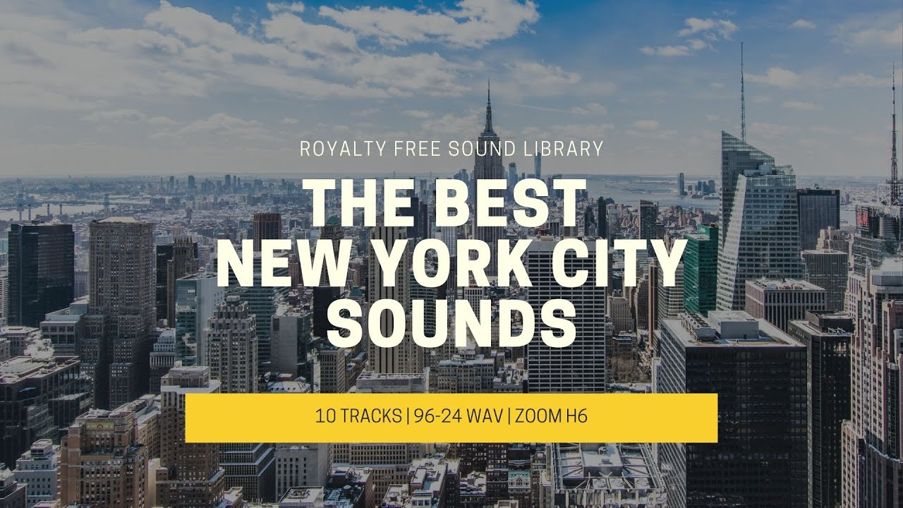New York Sounds! Traffic, People and Subways