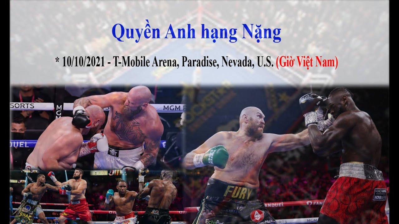 Quyền Anh hạng Nặng 10/10/2021 [Pro_Boxing]