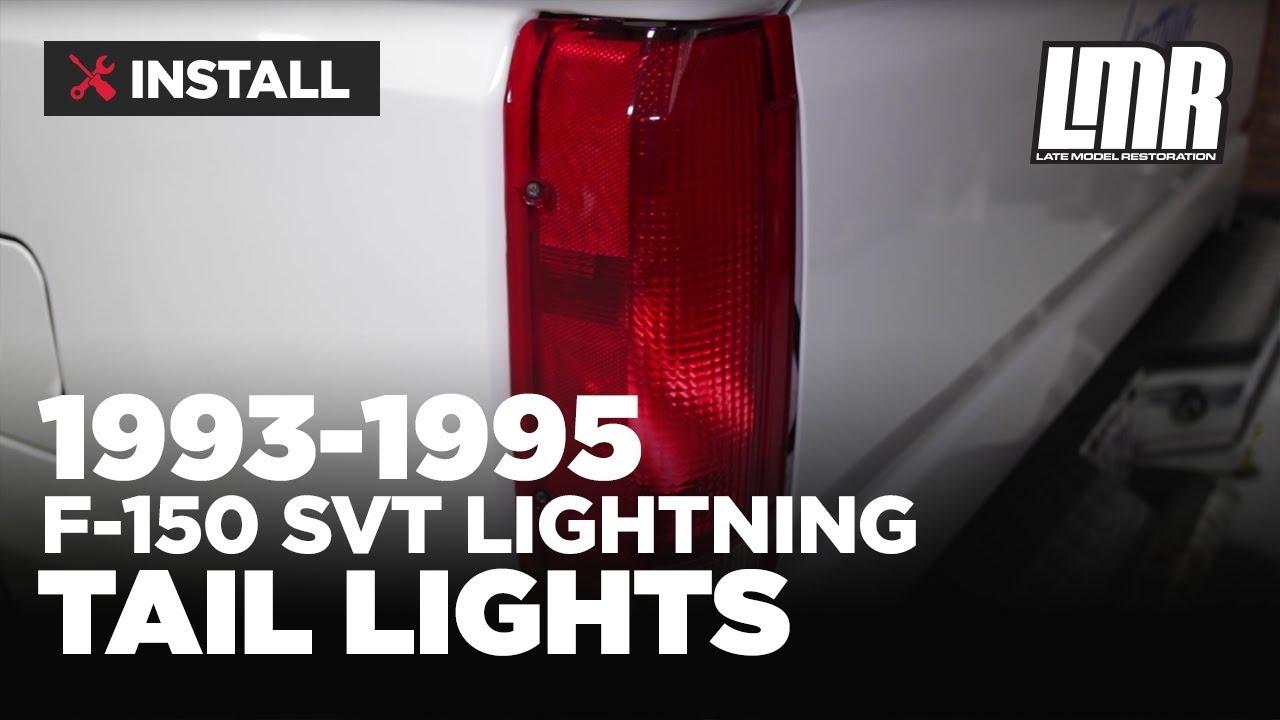 1993-1995 F-150 Svt Lightning Tail Light Kit