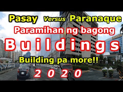 Pasay & Paranaque City Update 2019. Travel Vlog, Tour Sightseeing..