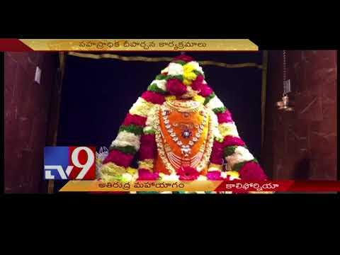 Athi Rudra Mahayagna in California Vinayaka Cultural Centre - USA - TV9