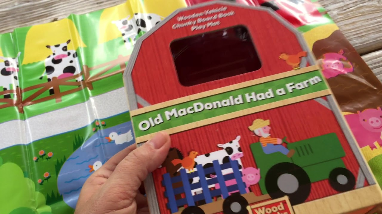 Old Mac Donald Had A Farm Book and Activity Pack - YouTube