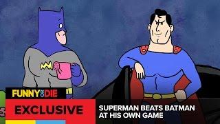 Superman Beats Batman At His Own Game