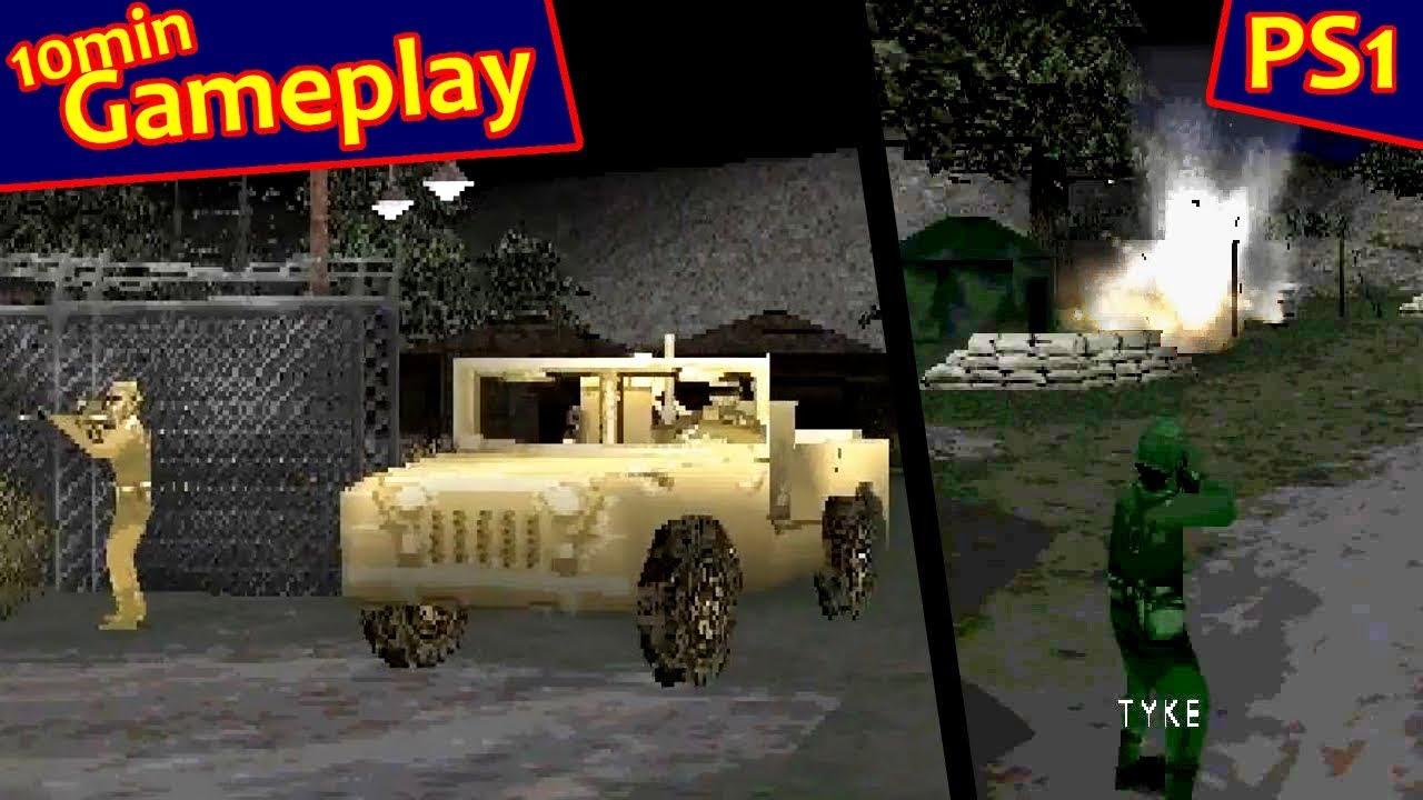 Army Men World War Team Assault Ps1 Youtube