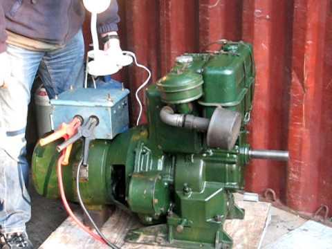 push start wiring diagram 7 pin trailer uk lister sl1 generator - youtube