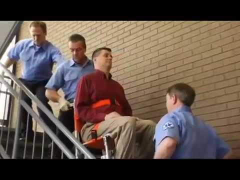 Ferno Model 40 Stair Chair Demonstration