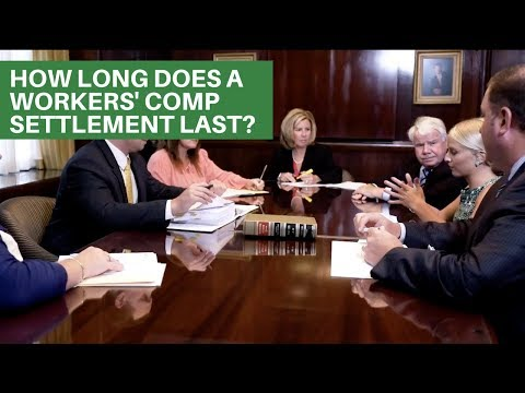 How long does a workers comp settlement last?   PA Workers Comp Attorneys