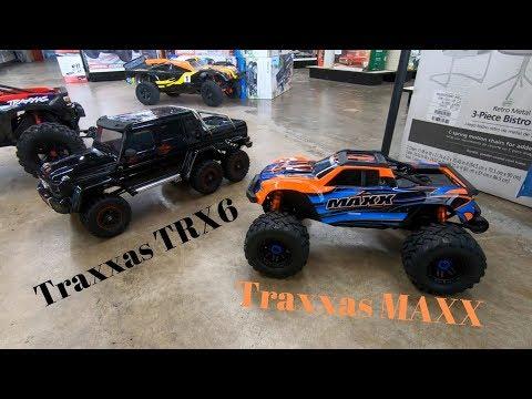 Traxxas TRX6 and Traxxas Maxx First Look