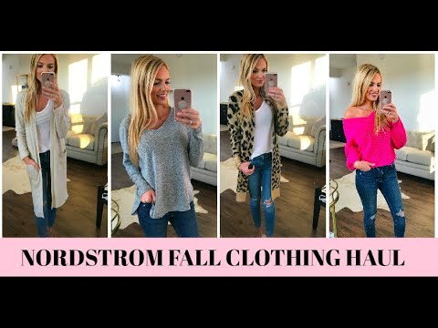 NORDSTROM FALL CLOTHING TRY ON HAUL 2018 || THE BEST BASICS