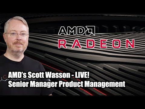 AMD's Scott Wasson Joins Us LIVE For A Chat About Radeon Software Adrenalin 2020! 2.5 Geeks 12/11/19