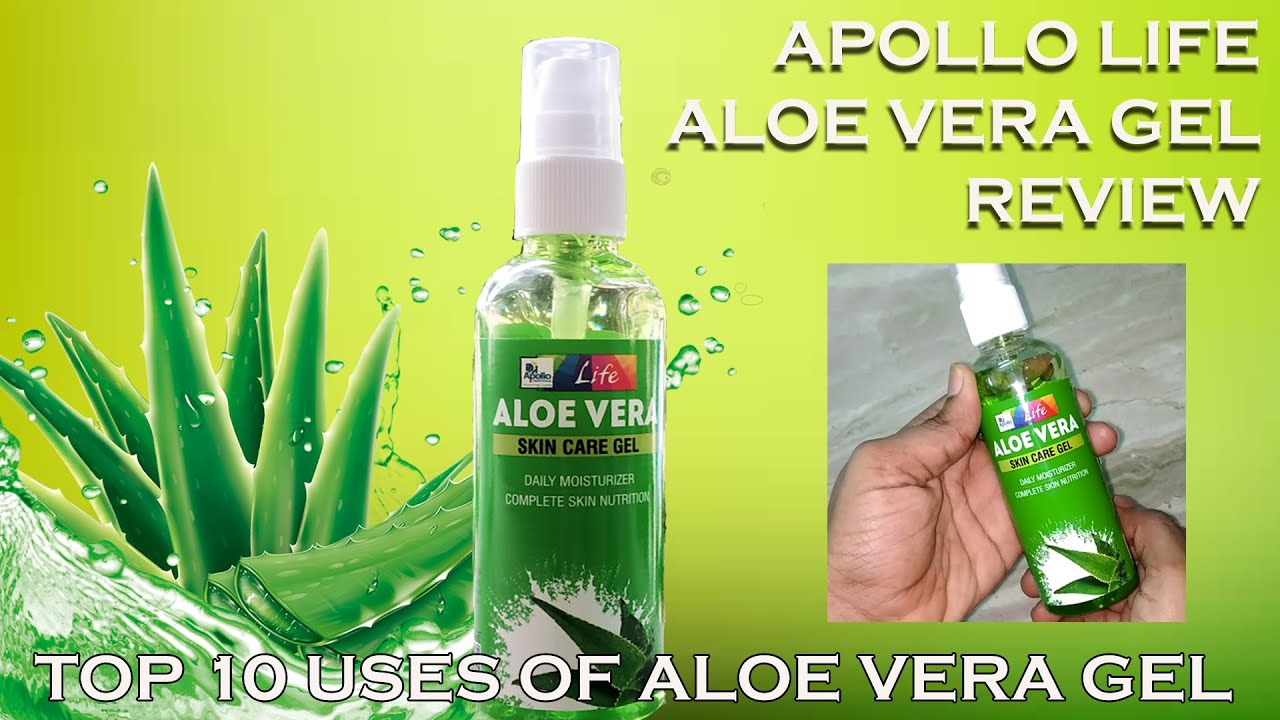 Best Aloe Vera Gel Apollo Aloe Vera Gel Honest Review 10 Top Uses Of Aloe Vera Gel In Tamil Youtube