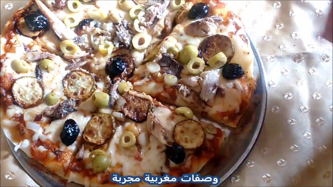 recette pizza italienne p te fine youtube. Black Bedroom Furniture Sets. Home Design Ideas