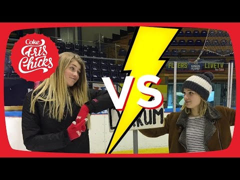 #13 SCHAATSBATTLE ROMY vs MARIJE - FrisChicks
