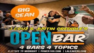 Big Sean -  0 To 100 [Frestyle Open Bar]