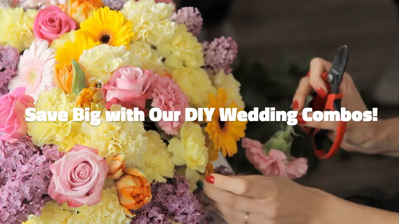 Make Beautiful Wedding Bouquets And Fresh Flower Centerpieces Youtube