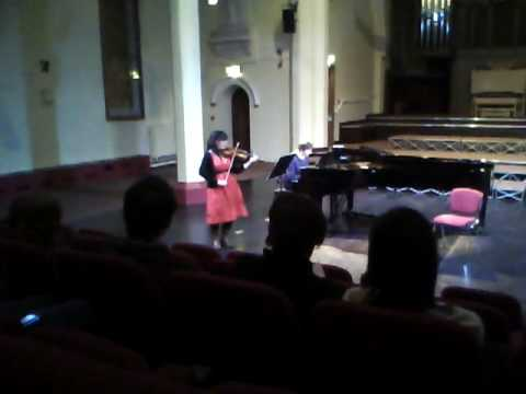 Leticia Marquez continuacion Sonata no. 5 for viol...