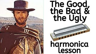 'The Good, The Bad & The Ugly' harmonica lesson – Movie Soundtrack Week at LearnTheHarmonica.com