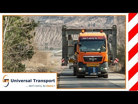 Universal Transport - Transport of a feeding hopper