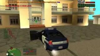 Gta San Andreas PL Multi Player POŚCIGI!! POLICYJNE
