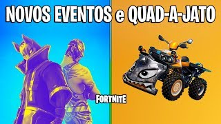 FORTNITE-NEW EVENTS et VEHICLE DEMOLIDOR! -Patch 6.1