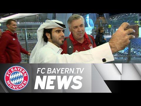 FC Bayern Winter Training Camp in Doha Begins