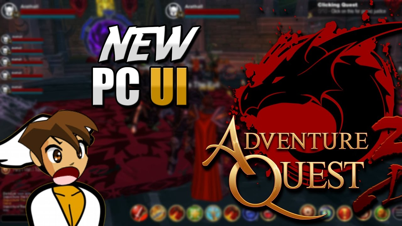 NEW PC UI, TRADING And 5th SKILL - AQ3D AdventureQuest 3D