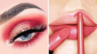Amazing Eye Makeup &amp Lip Art Ideas Compilation  Satisfying Lipsticks Makeup Tutorial - TheBeauty