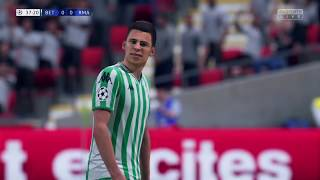 Real Betis career (manual controls). Champions League Final vs Real Madrid