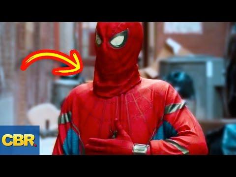 10 Secrets Behind Popular Superhero...