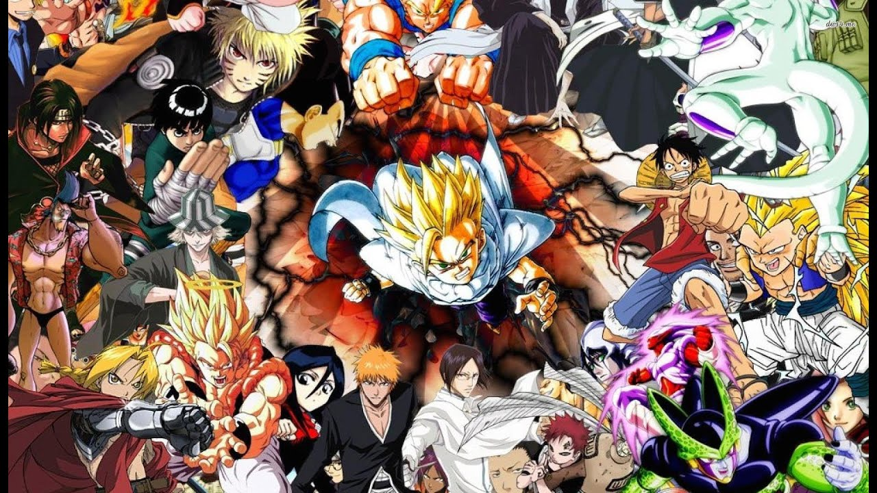 Anime Characters Ranked : Top manga of all time youtube